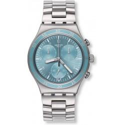 Reloj Swatch Unisex Irony Chrono Clear Water YCS589G
