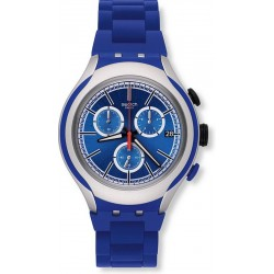 Reloj Swatch Hombre Irony Xlite Blue Attack Cronógrafo YYS4017AG