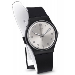Reloj Swatch Unisex Gent Silver Friend Too GB287