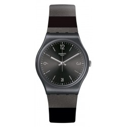 Reloj Swatch Unisex Gent Blackeralda GB430