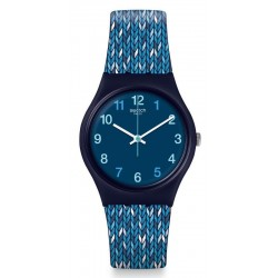 Reloj Swatch Mujer Gent Trico'Blue GN259