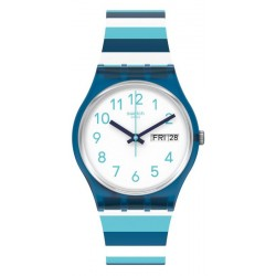 Reloj Swatch Unisex Gent Striped Waves GN728