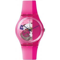 Reloj Swatch Unisex Gent Pinkorama GP145