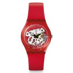 Reloj Swatch Unisex Gent Rosso Bianco GR178
