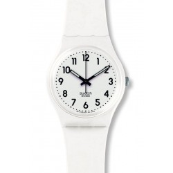 Comprar Reloj Swatch Unisex Gent Just White Soft GW151O