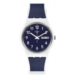 Reloj Swatch Unisex Gent Navy Light GW715
