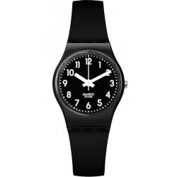 Reloj Swatch Mujer Lady Black Single LB170E