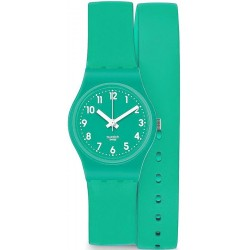 Reloj Swatch Mujer Lady Mint Leave LL115