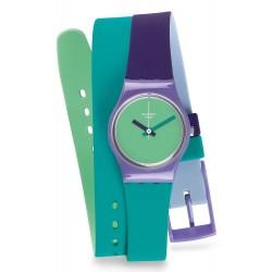 Reloj Swatch Mujer Lady Fun In Blue LV117