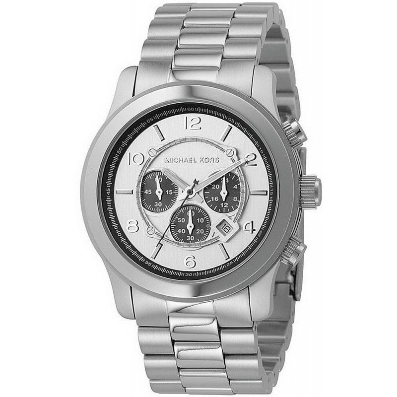 Reloj Michael Kors Hombre Runway Mk8060 Cron 243 Grafo