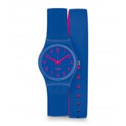 Reloj Swatch Mujer Lady Biko Bloo LS115