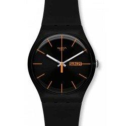 Reloj Swatch Unisex New Gent Dark Rebel SUOB704