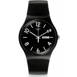 Comprar Reloj Swatch Unisex New Gent Backup Black SUOB715