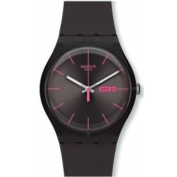 Comprar Reloj Swatch Unisex New Gent Brown Rebel SUOC700