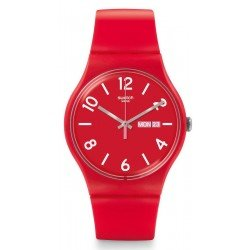 Comprar Reloj Swatch Unisex New Gent Backup Red SUOR705