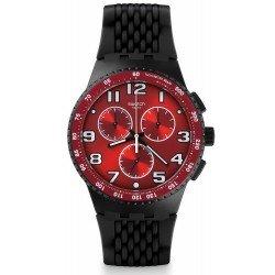 Comprar Reloj Swatch Hombre Chrono Plastic Testa di Toro SUSB101