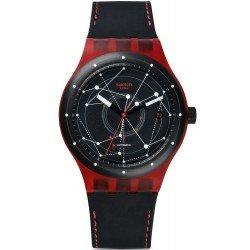Comprar Reloj Swatch Unisex Sistem 51 Sistem Red SUTR400 Automático
