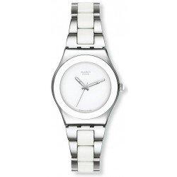 Reloj Swatch Mujer Irony Medium Tresor Blanc YLS141GC