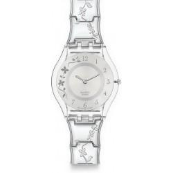 Reloj Swatch Mujer Skin Classic Climber Flowery SFK300G