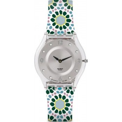 Reloj Swatch Mujer Skin Classic Botanical Bomb SFK327