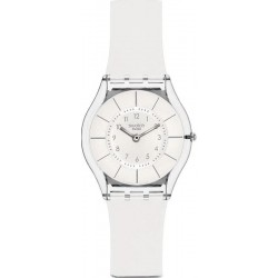 Reloj Swatch Mujer Skin Classic White Classiness SFK360