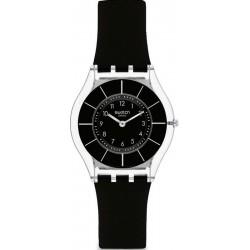 Reloj Swatch Mujer Skin Classic Black Classiness SFK361