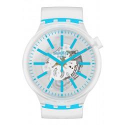 Reloj Swatch Big Bold Blueinjelly SO27E105