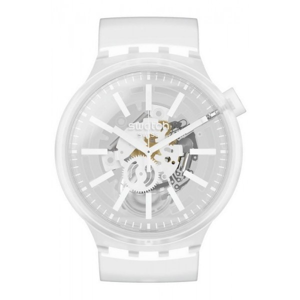 Comprar Reloj Swatch Big Bold Whiteinjelly SO27E106