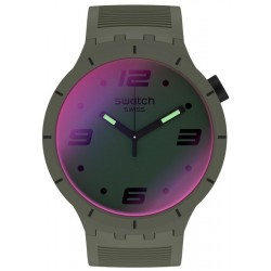Reloj Swatch Big Bold Futuristic Green SO27M105