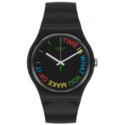 Reloj Swatch Unisex New Gent Freetid SO29B103