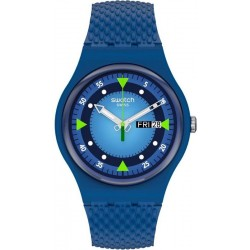 Reloj Swatch Unisex New Gent Blue Blend SO29N701