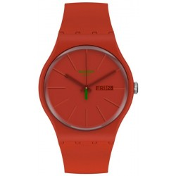 Reloj Swatch Unisex New Gent Redvremya SO29R700