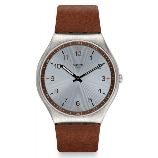 Comprar Reloj Swatch Hombre Skin Irony Skin Suit Brown SS07S108