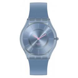 Reloj Swatch Mujer Skin Classic Denim Blue SS08N100