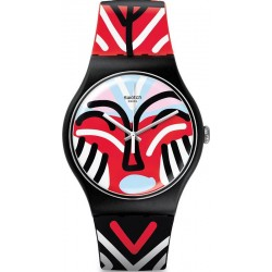 Reloj Swatch Unisex New Gent Mask Parade SUOB127