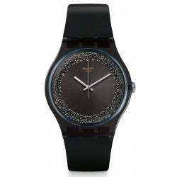Reloj Swatch Mujer New Gent Darksparkles SUOB156