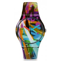 Comprar Reloj Swatch Unisex New Gent City Walls SUOB163