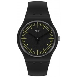 Reloj Swatch Unisex New Gent Blacknyellow SUOB184