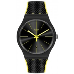 Reloj Swatch Unisex New Gent Night Cord SUOB406