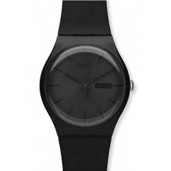 Comprar Reloj Swatch Unisex New Gent Black Rebel SUOB702