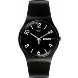 Reloj Swatch Unisex New Gent Backup Black SUOB715
