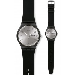 Reloj Swatch Unisex New Gent Silver Friend SUOB717