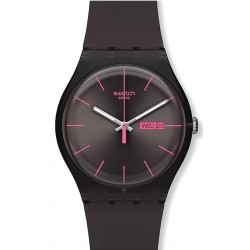 Reloj Swatch Unisex New Gent Brown Rebel SUOC700