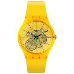 Reloj Swatch Unisex New Gent Bio Lemon SUOJ108