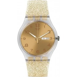 Comprar Reloj Swatch Mujer New Gent Golden Sparkle SUOK704
