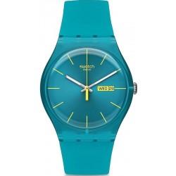 Reloj Swatch Unisex New Gent Turquoise Rebel SUOL700