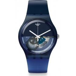 Comprar Reloj Swatch Unisex New Gent Blue Depth SUON105