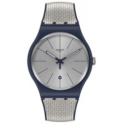 Reloj Swatch Unisex New Gent Grey Cord SUON402