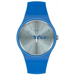 Reloj Swatch Unisex New Gent Blue Rails SUON714