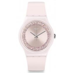 Reloj Swatch Mujer New Gent Pinksparkles SUOP110